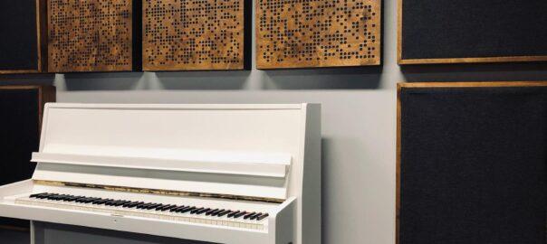 dekoracyjne panele akustyczne